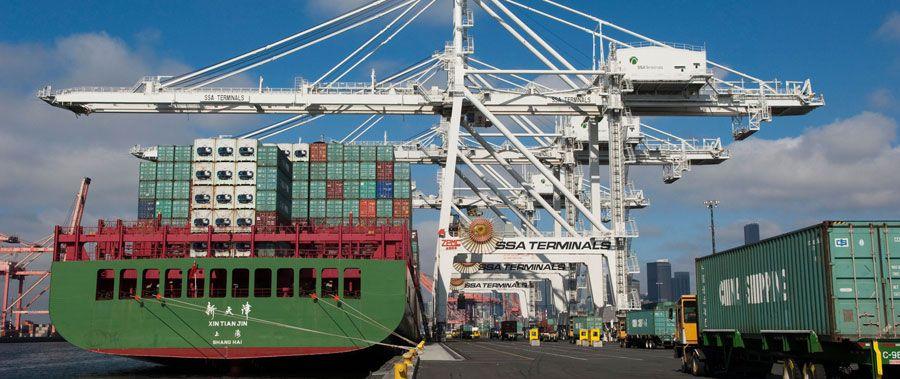 Las exportaciones estadounidenses de septiembre fueron de 206,000 millones de dólares.