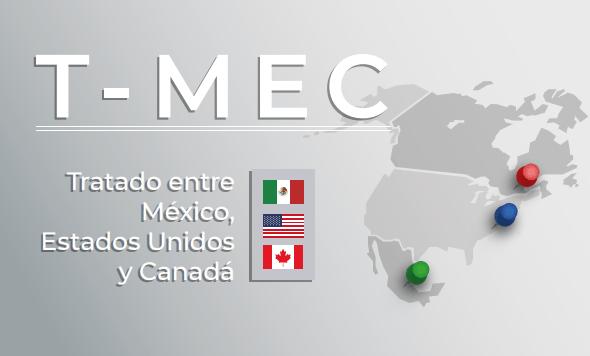 La Secretaría de Economía destacó un paquete de los principales beneficios que traerá para la economía mexicana el Tratado entre México, Estados Unidos y Canadá (T-MEC).