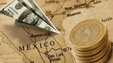 El peso también está expuesto debido a una mayor percepción de riesgo sobre la economía mexicana, pues o datos publicados recientemente muestran que continúa el estancamiento económico.