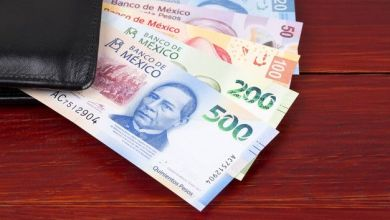 The peso starts the session with a depreciation of 0.29% or 5.8 cents, trading around 20.25 pesos per dollar, with the exchange rate touching a minimum of 20.1796 and a maximum of 20.3553 pesos, with which the peso-dollar parity returns to pierce the key resistance of 20.30 pesos, showing a moderate upward trend.