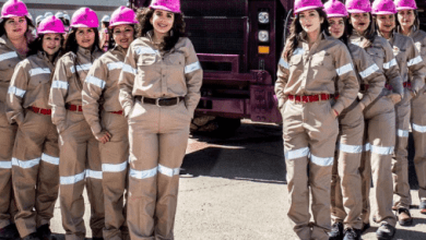 Women miners made up 17% of the workforce in the sector, according to data from the Mining Chamber of Mexico (Camimex).