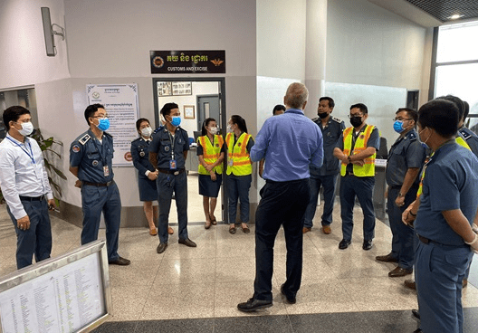Through the Asia / Pacific Security Project, the World Customs Organization (WCO) delivered four national training courses on passenger screening to WCO member customs administrations in that region.