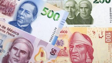 The Mexican peso closed the session with an appreciation of 0.21% or 4.1 cents, trading around 19.87 pesos per dollar, touching a minimum of 19.8196 pesos.