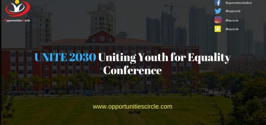 UNITE 2030 Uniting Youth for Equality Conference