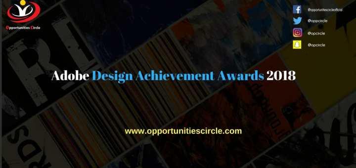 Adobe Design Achievement Awards 2018