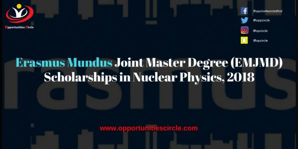 Erasmus Mundus Joint Master Degree EMJMD Scholarships in Nuclear Physics 2018 300x150 - Erasmus Mundus Join Master Degree (EMJMD) Scholarships in Nuclear Physics, 2018