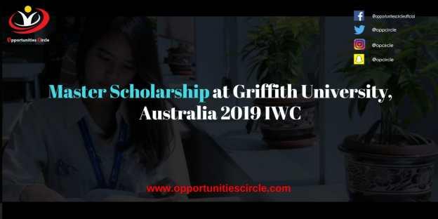 Master Scholarship at Griffith University Australia 2019 IWC 300x150 - Master Scholarship at Griffith University, Australia 2019 IWC