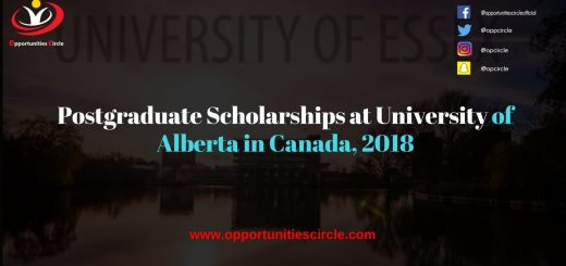 Postgraduate Scholarships University