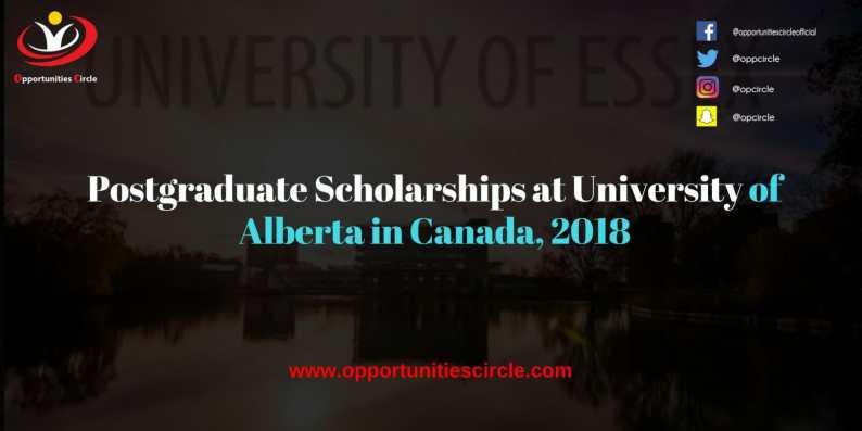 Postgraduate Scholarships at University of Alberta in Canada 2018 300x150 - Postgraduate Scholarships at University of Alberta in Canada, 2018