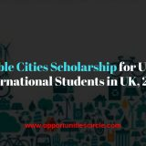 Sustainable Cities Scholarship