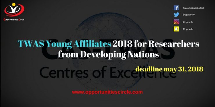 TWAS Young Affiliates 2018 for Researchers from Developing Nations 300x150 - TWAS Young Affiliates 2018 for Researchers from Developing Nations