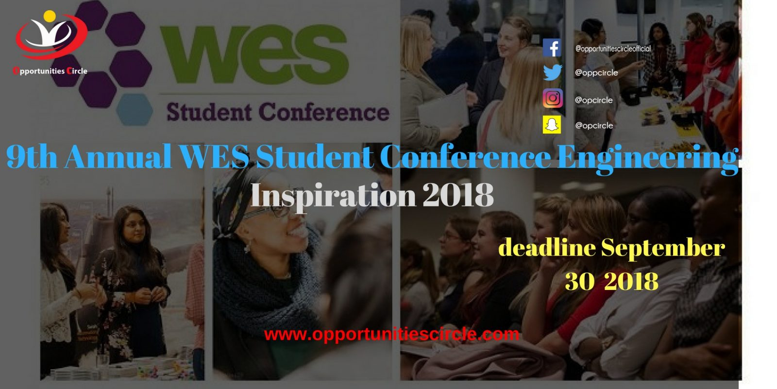 9th Annual WES Student Conference Engineering Inspiration 2018 - 9th Annual WES Student Conference Engineering Inspiration 2018