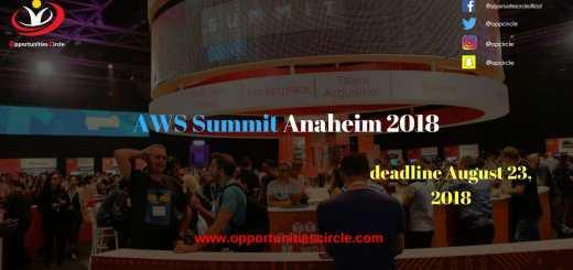 AWS Summit Anaheim 2018