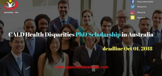 CALD Health Disparities PhD Scholarship in Australia