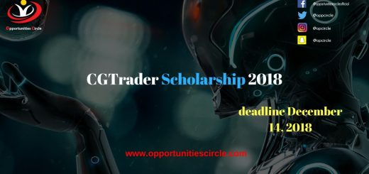 CGTrader Scholarship 2018