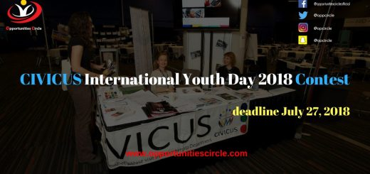 CIVICUS International Youth Day 2018 Contest