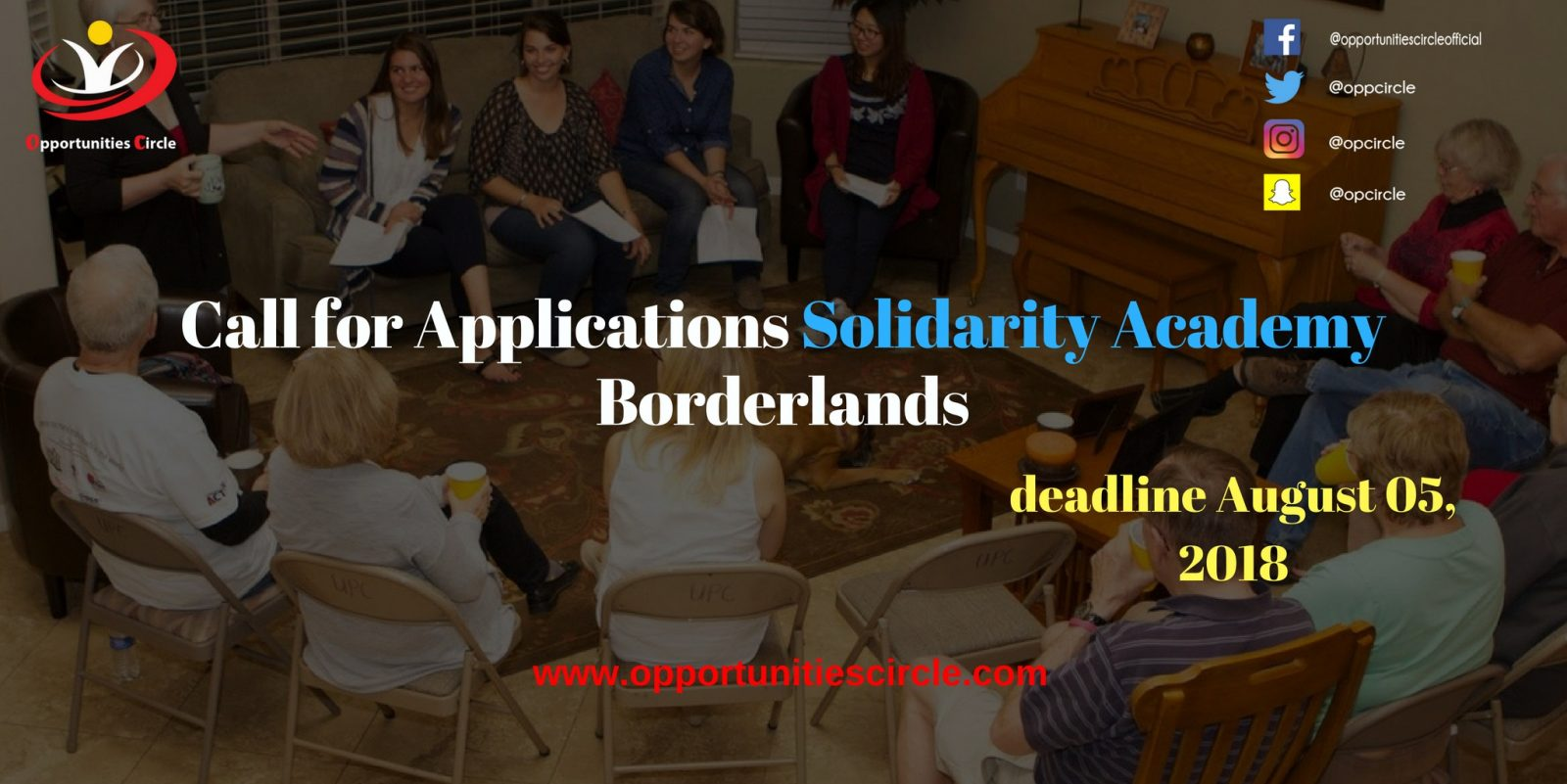 Call for Applications Solidarity Academy Borderlands - Call for Applications Solidarity Academy Borderlands