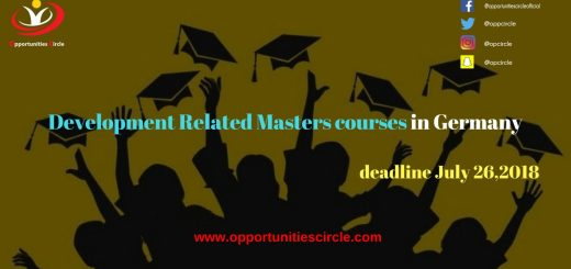 Development Related Masters courses in Germany