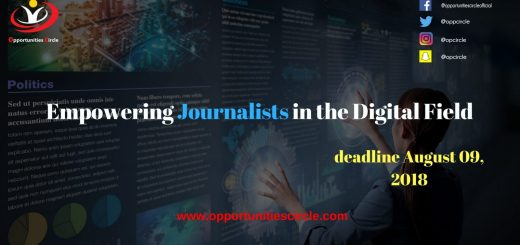 Empowering Journalists in the Digital Field