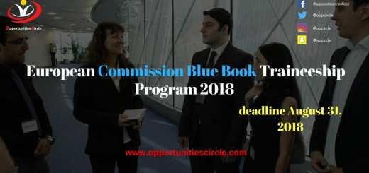 European Commission Blue Book Traineeship Program 2018