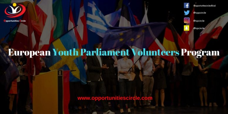 European Youth Parliament Volunteers Program 300x150 - European Youth Parliament Volunteers Program
