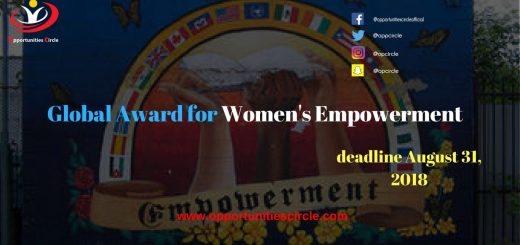 Global Award for Women's Empowerment