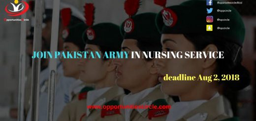 JOIN PAKISTAN ARMY IN NURSING SERVICE