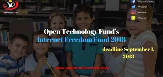 Open Technology Fund Internet Freedom Fund 2018