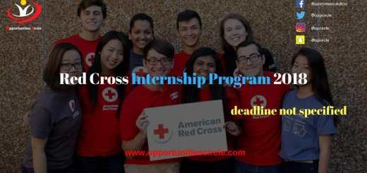 Red Cross Internship Program 2018 1 - Red Cross Internship Program 2018