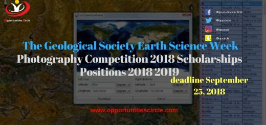 The Geological Society Earth Science Week Photography Competition 2018 Scholarship Positions 2018 2019 1 - The Geological Society Earth Science Week Photography Competition, 2018 Scholarship Positions 2018 2019