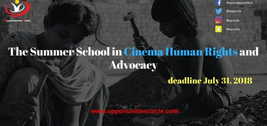 The Summer School in Cinema Human Rights and Advocacy
