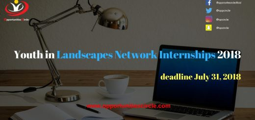Youth in Landscapes Network Internships 2018