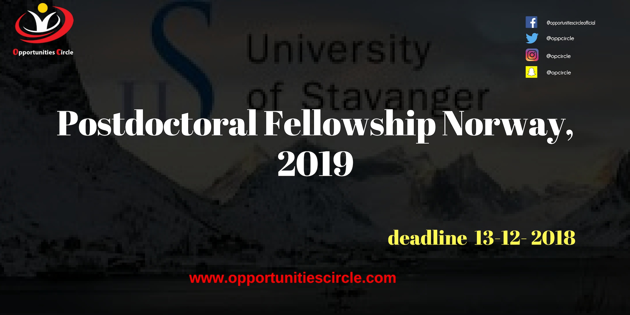 Phd scholarships - Opportunities Circle