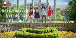 RJI Fellowship 2019 in University of Missouri USA