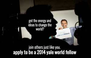 yale world fellows programme 2014