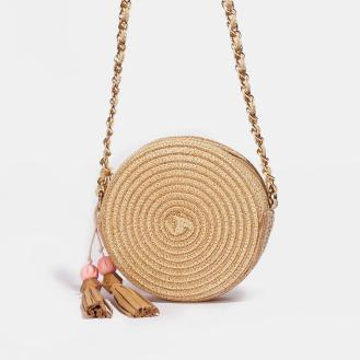 Allegra Woven Cross Body Bag
