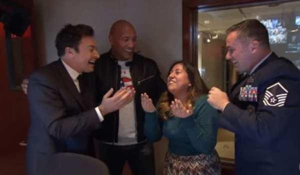 Dwayne Johnson and Jimmy Fallon Surprise Tonight Show ...