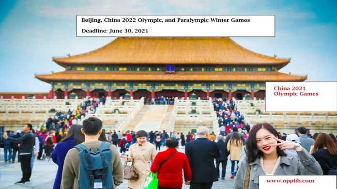 Beijing, China 2022 Olympic, and Paralympic Winter Games