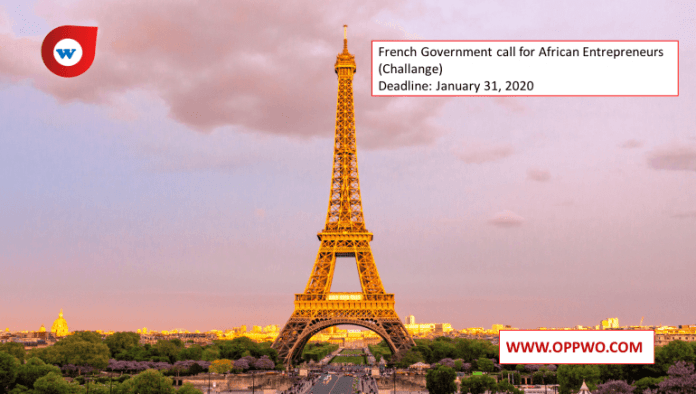 French Government call for African Entrepreneurs (Challange)