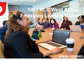 YALI RLC West Africa Emerging Leaders Cohort 16