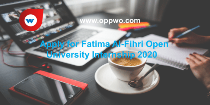 Apply for Fatima Al-Fihri Open University Internship 2020