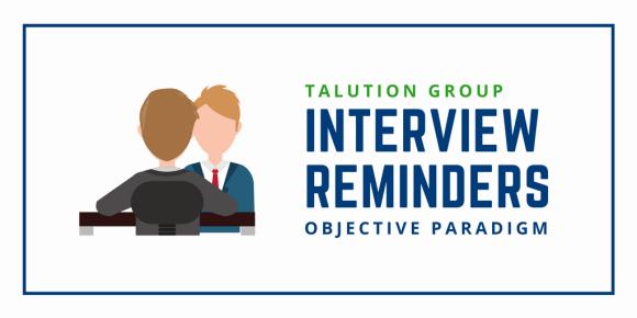 Interview Reminders Blog Header_RS Talution OP