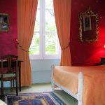 Op reis in frankrijk chateau la commandiere slaapkamer