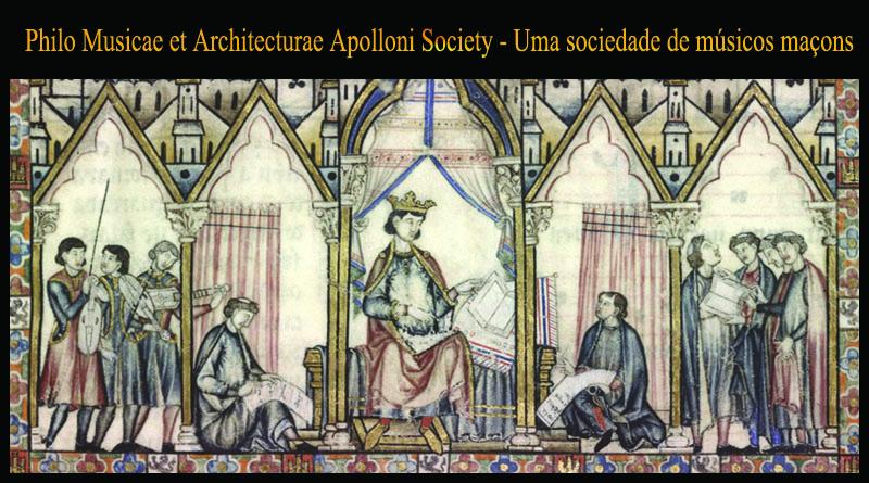 Philo Musicae et Architecturae Apolloni Society – Uma sociedade de músicos  maçons | O Prumo de Hiram