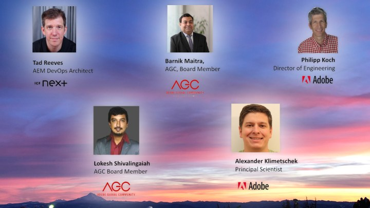 Panel Discussion and Q&A with Adobe on AEM as a Cloud Service