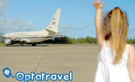 child waving goodbye