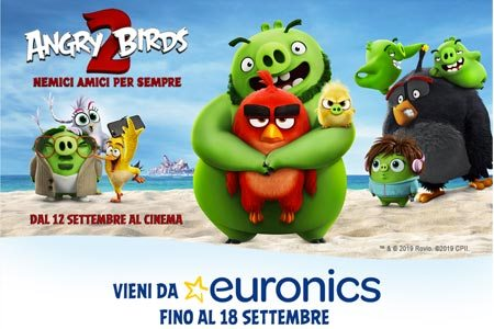 concorso euronics angry birds