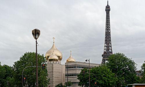 balade dans Paris église orthodoxe