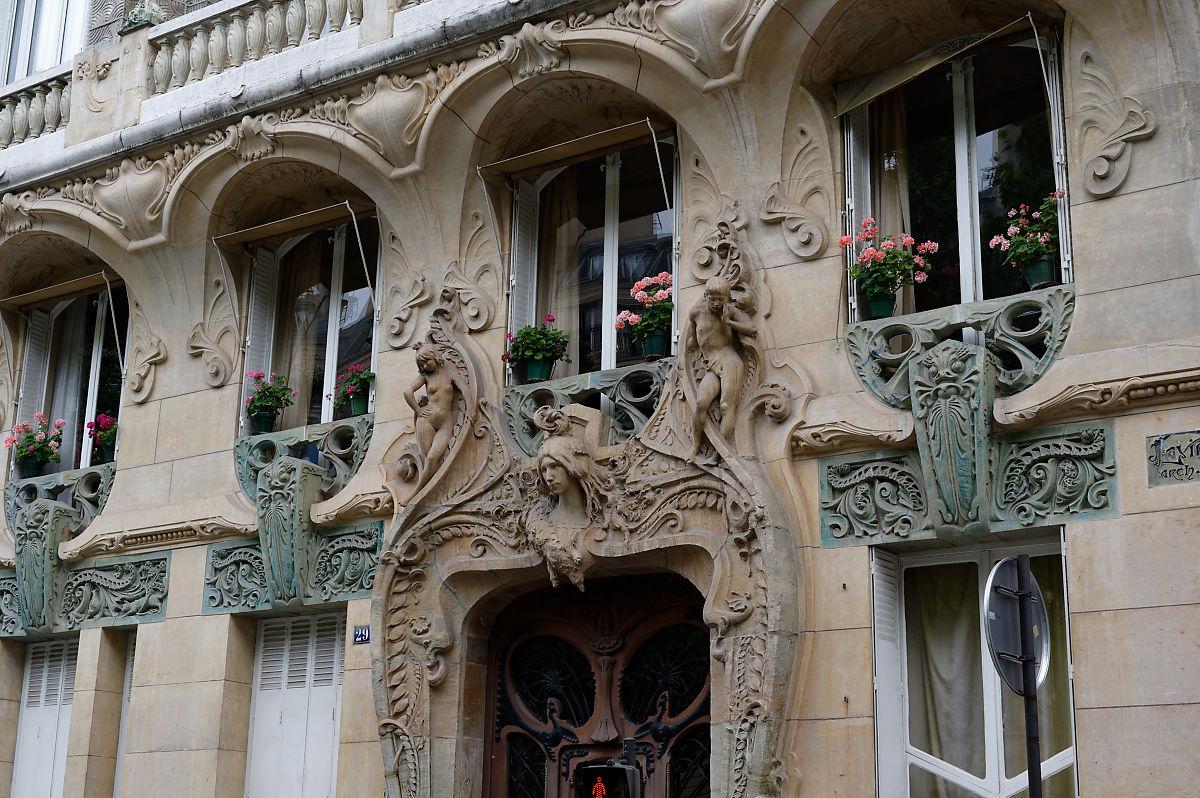 balade dans Paris Art nouveau