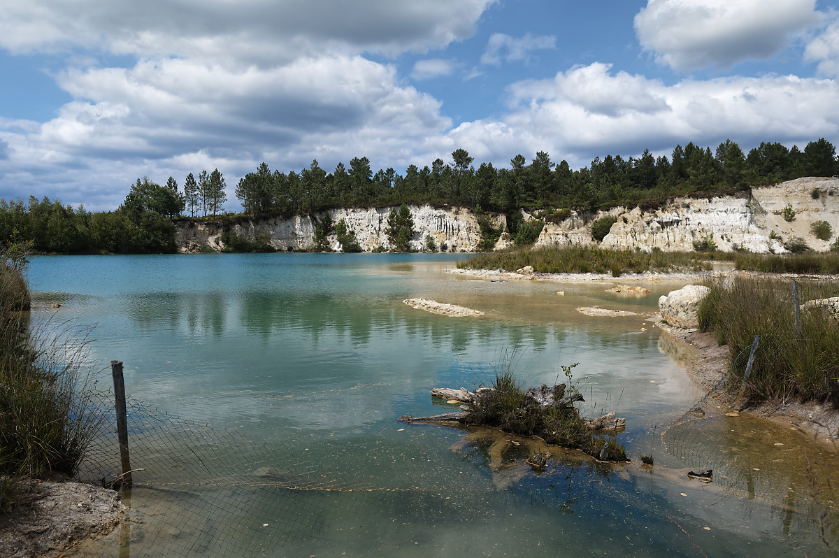 lacs bleus de Guizengeard